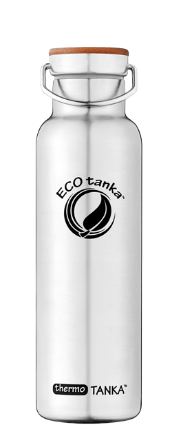 ECOtanka thermotanka 600ml with stainless steel bamboo lid