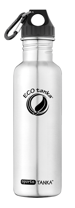 ECOtanka sportsTANKA 800ml stainless steel bottle