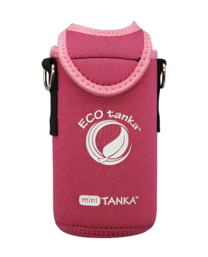 COtanka mini 600ml kooler cover Pink front