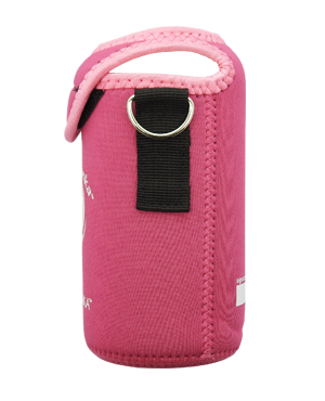 ECOtanka mini 600ml kooler cover Pink side