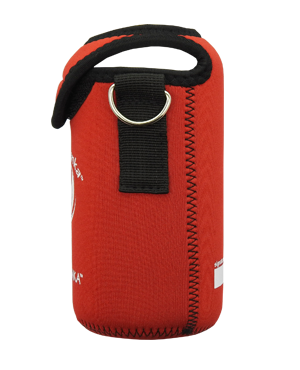 ECOtanka mini 600ml kooler cover Red side