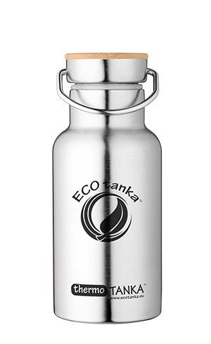 ECOtanka thermotanka 350ml with stainless steel bamboo lid