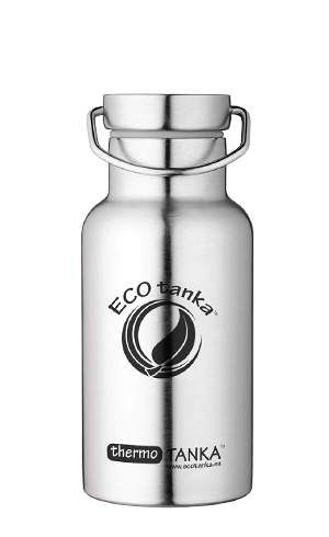 ECOtanka thermotanka 350ml with stainless steel Modern lid